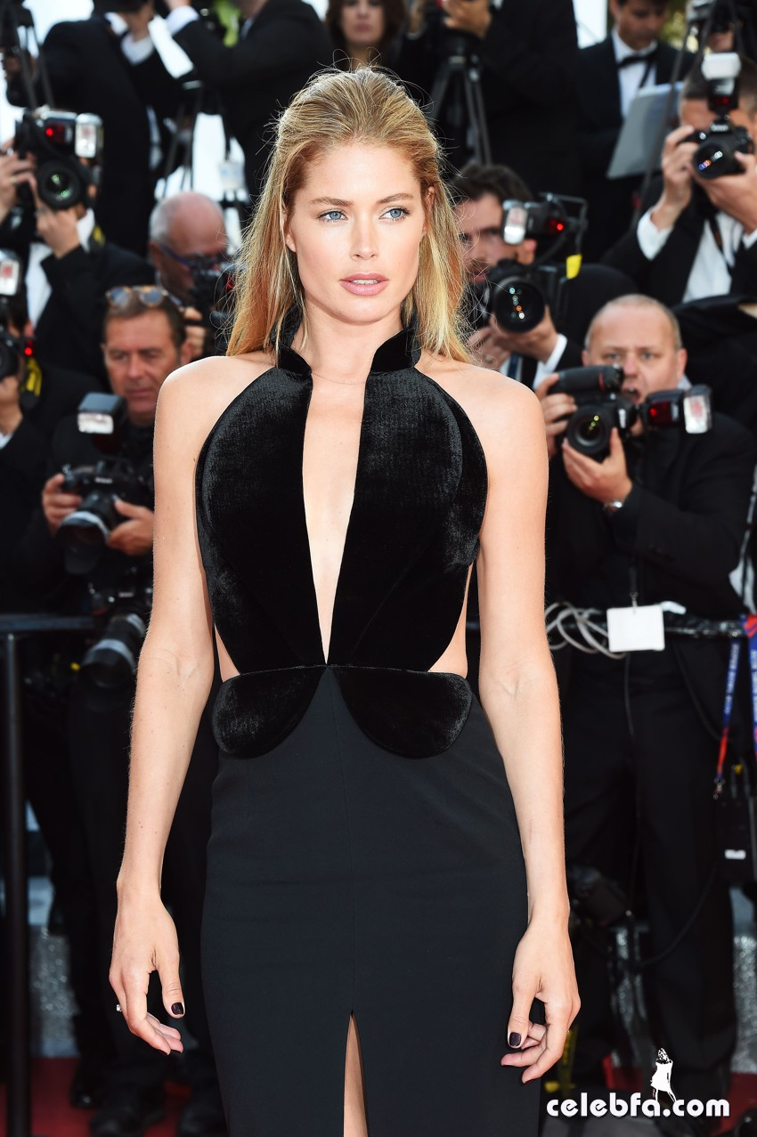 11 May 2016. Doutzen Kroes attends the Opening Ceremony Red Carpet and Premiere during the 69th Annual Cannes Film Festival at the Palais des Festivals on May 11, 2016 in Cannes, France. Credit: GoffPhotos.com   Ref: KGC-322/45781 **UK, China Sales Only**