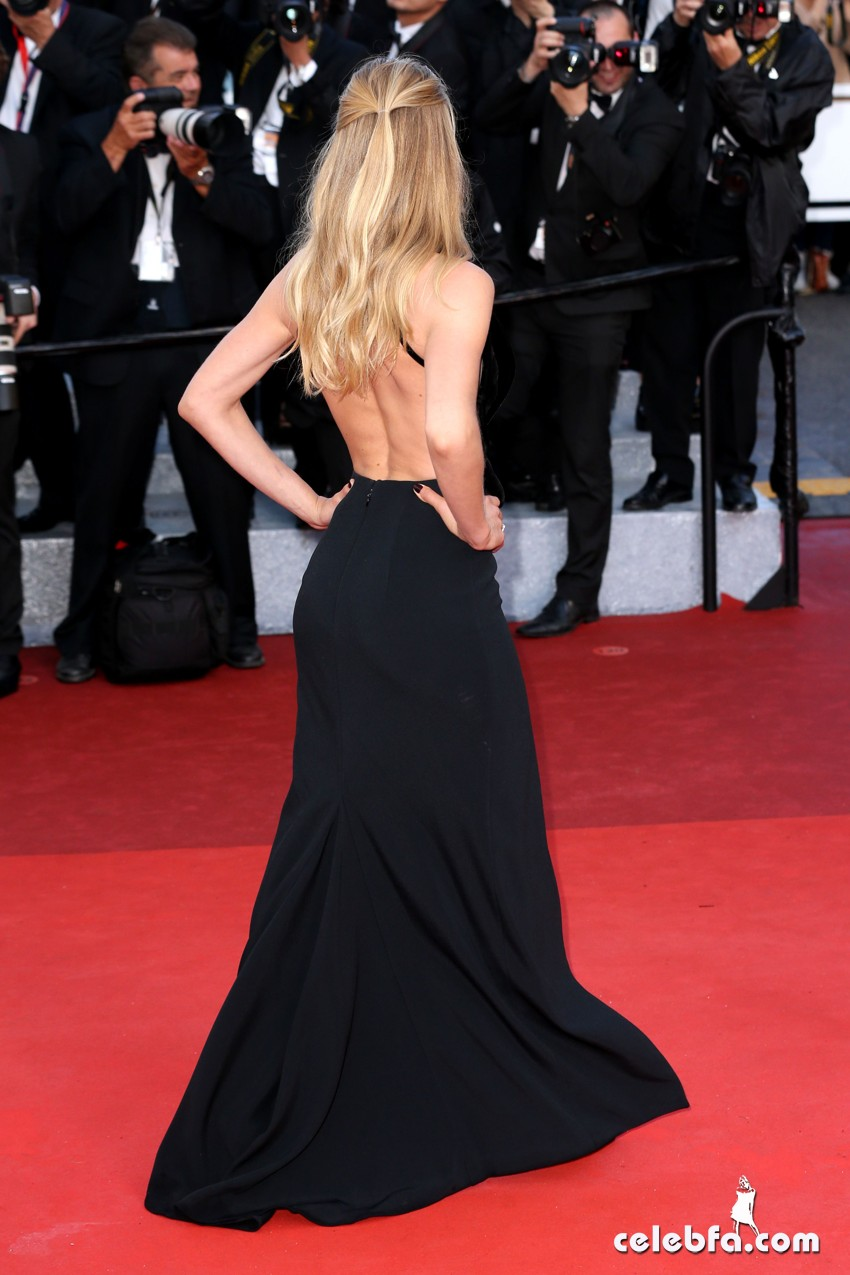 Mandatory Credit: Photo by James Gourley/REX/Shutterstock (5682158aq) Doutzen Kroes 'Cafe Society' premiere and opening ceremony, 69th Cannes Film Festival, France - 11 May 2016