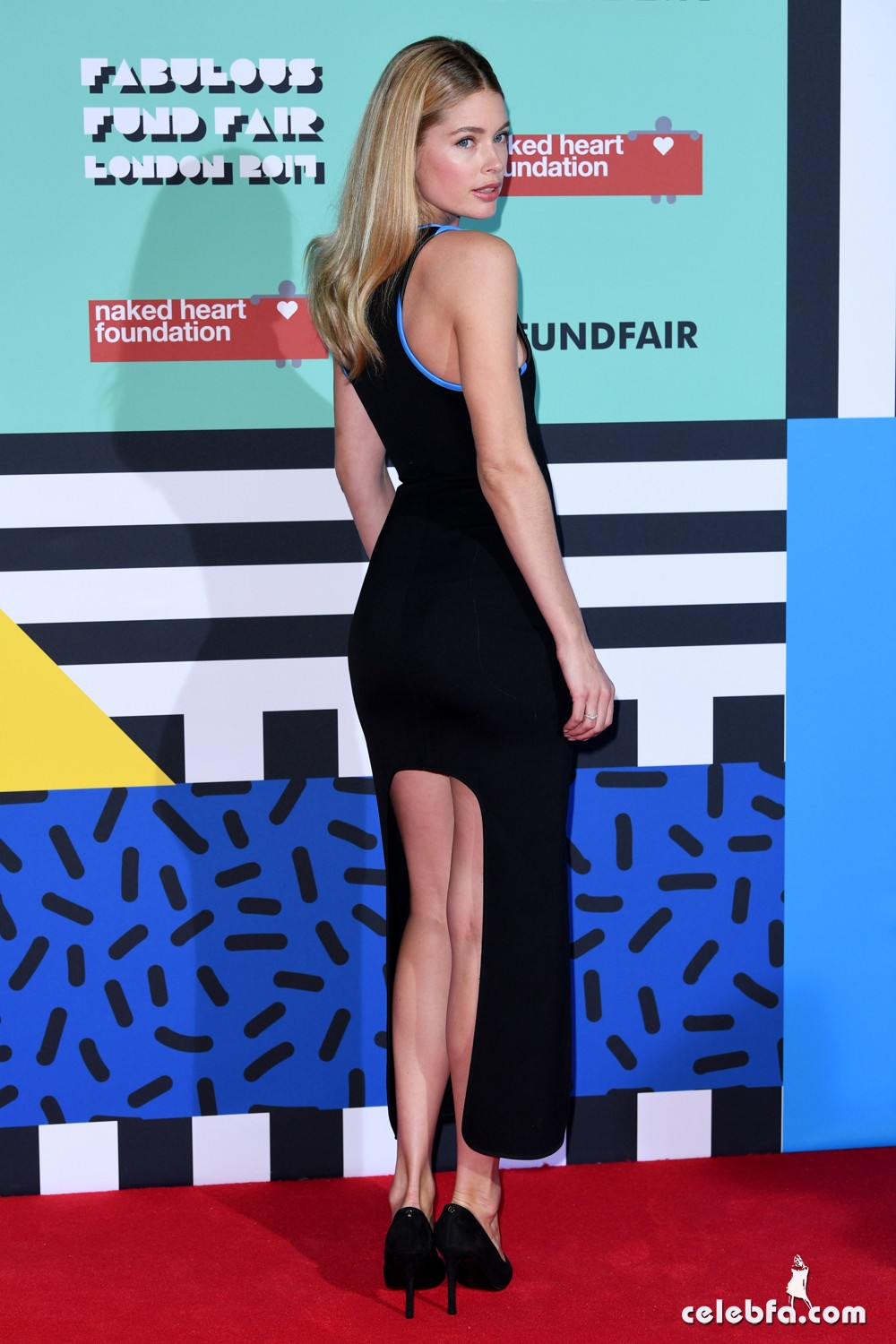 Mandatory Credit: Photo by David Fisher/REX/Shutterstock (8418507ar) Doutzen Kroes The Naked Heart Foundation Fabulous Fund Fair, Roundhouse, London, UK - 21 Feb 2017