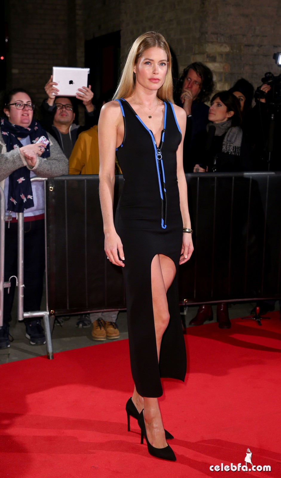 Mandatory Credit: Photo by James Shaw/REX/Shutterstock (8418544x) Doutzen Kroes The Naked Heart Foundation Fabulous Fund Fair, Roundhouse, London, UK - 21 Feb 2017