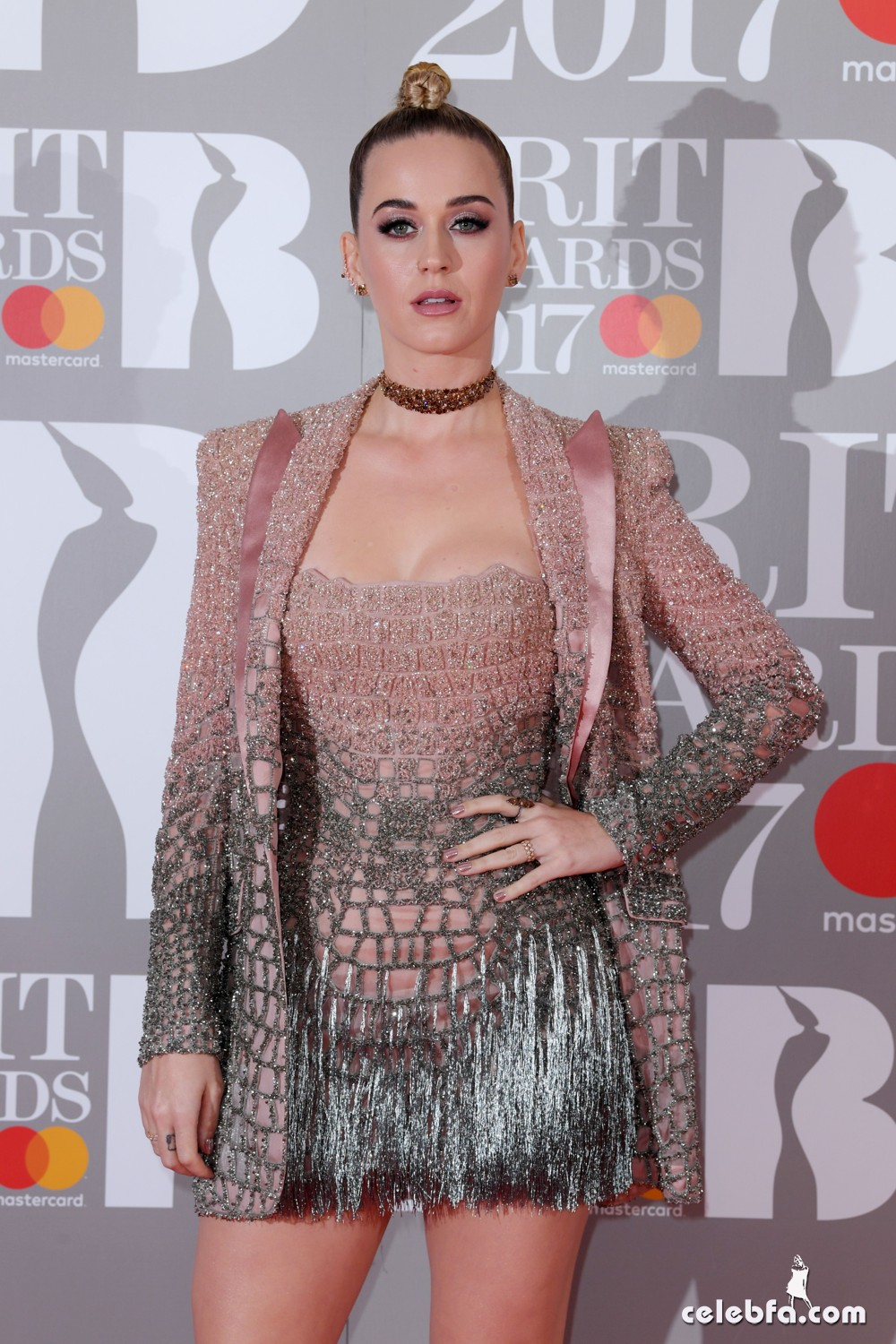 The Brit Awards, Arrivals, O2 Arena, London, UK - 22 Feb 2017