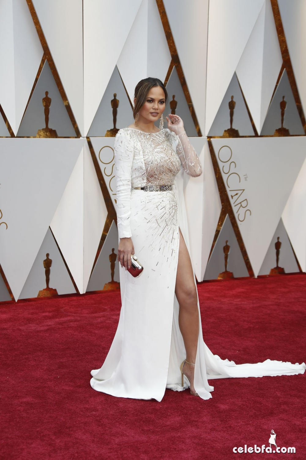 chrissy-teigen-oscars-2017-red-carpet-3