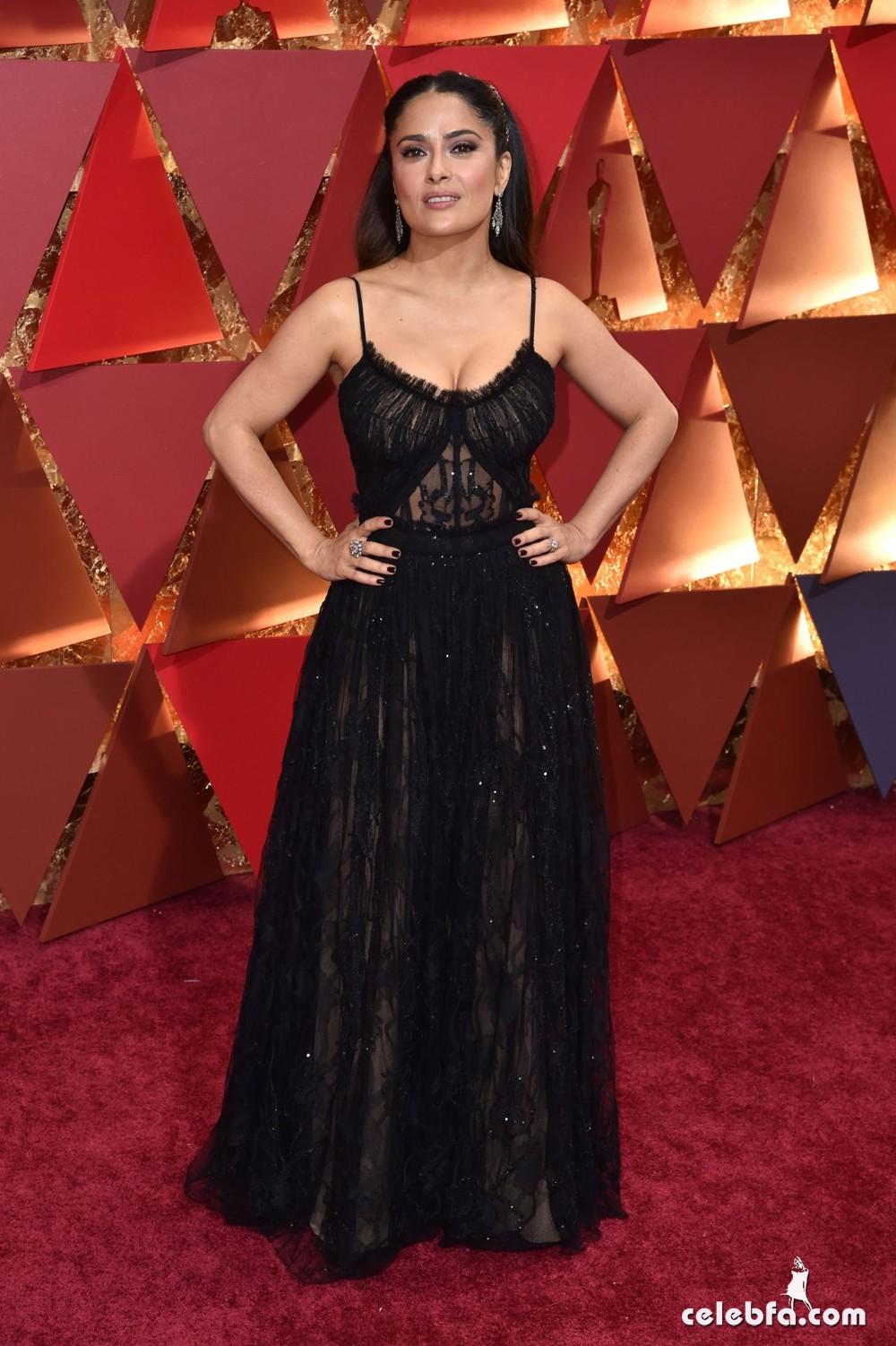 salma-hayek-oscars-2017-red-carpet-2
